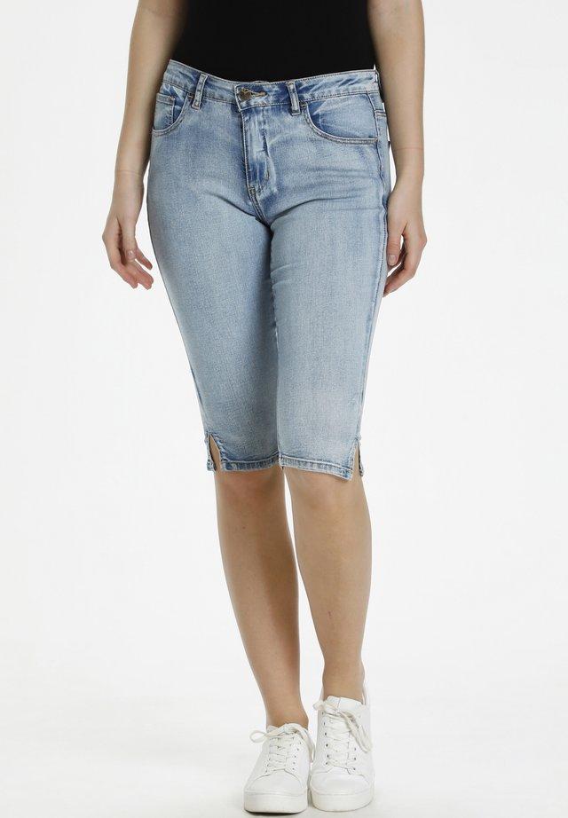 Shorts di jeans - light blue wash