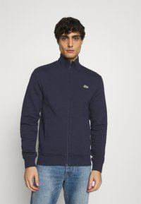 Lacoste - Zip-up hoodie - navy blue - 0
