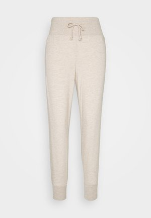 High Waist Lightweight Slim Jogger - Tracksuit bottoms - beige