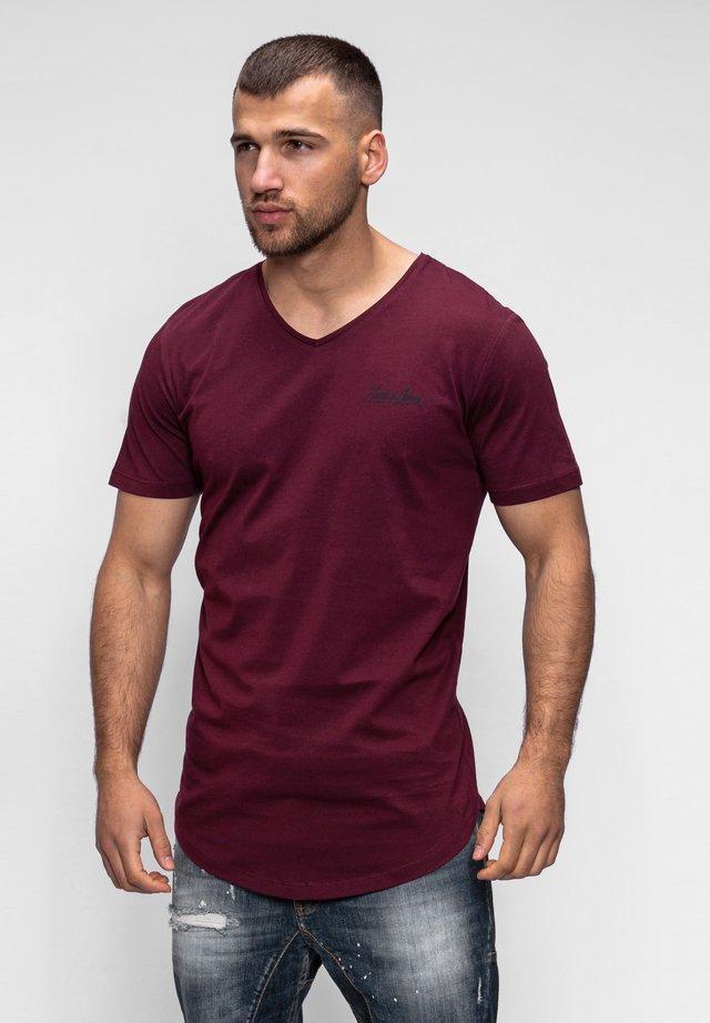 NEWRAR  - Basic T-shirt - port royale