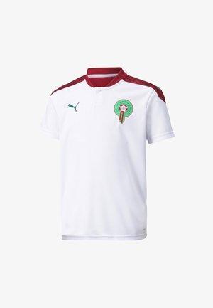 MOROCCO AWAY  - Print T-shirt -  white-pepper green