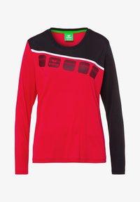 Erima - Sports shirt - red/black/white - 4