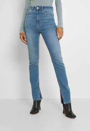 SUPERSTRETCH SLIT - Slim fit jeans - blue