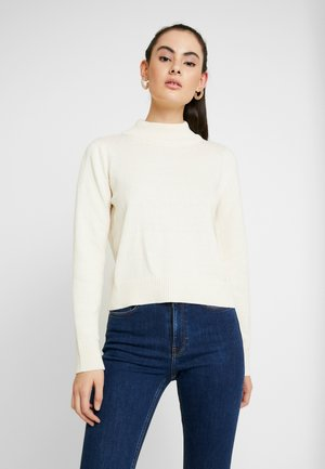 PAMELA REIF HIGH NECK  - Jumper - white