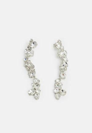 PCCARDIA EARRINGS - Pendientes - silver-coloured