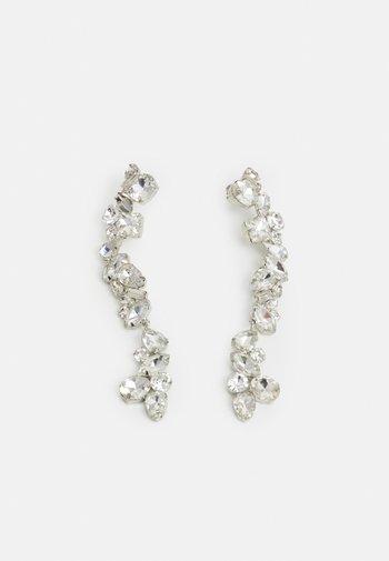 PCCARDIA EARRINGS - Earrings - silver-coloured