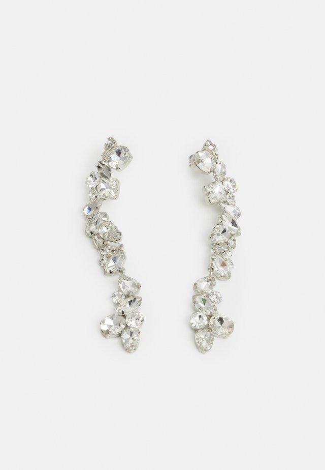 PCCARDIA EARRINGS - Kolczyki - silver-coloured