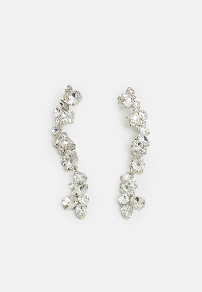 Pieces - PCCARDIA EARRINGS - Oorbellen - silver-coloured