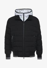 Neil Barrett BLACKBARRETT - HYBRID PADDED BOMBER - Down jacket - black / silver - 3