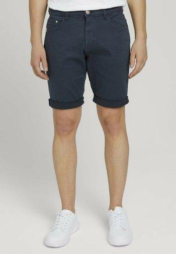 Denim shorts - sky captain blue