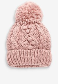 Next - CABLE  SET - Beanie - pink - 1