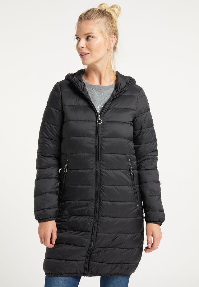 STEPPMANTEL - Cappotto invernale - schwarz