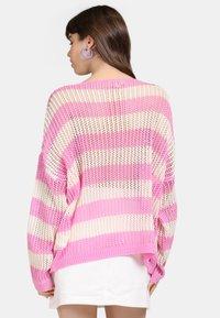 myMo - Jumper - light pink/white - 2