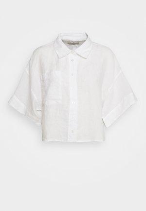 WELLIE LINEN SHIRT - Skjorte - white