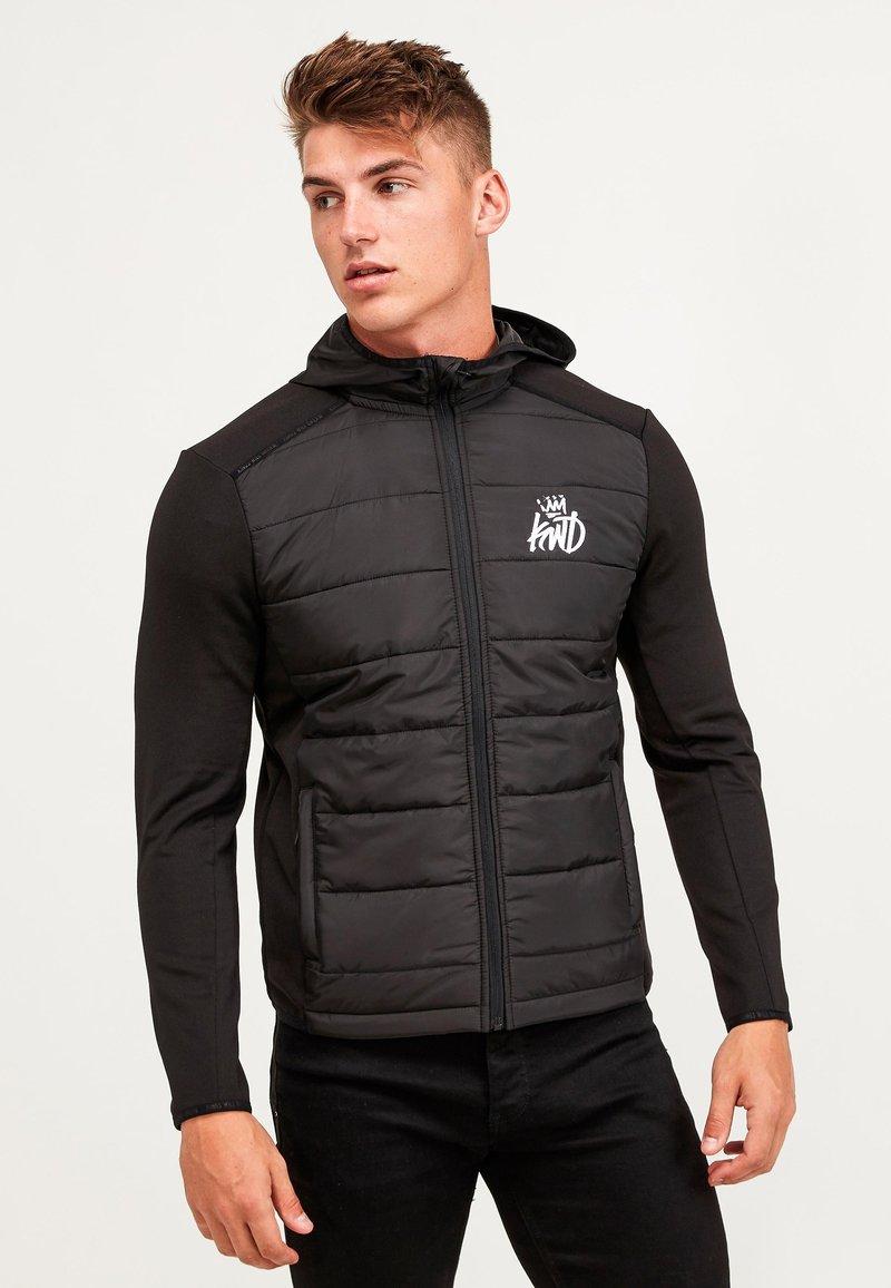 Kings Will Dream - MORSTON HYBRID PUFFER JACKET - Light jacket - black