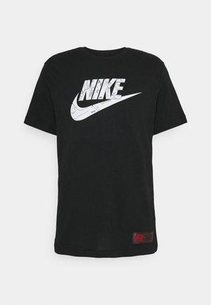 TEE  AIR  - Camiseta estampada - black