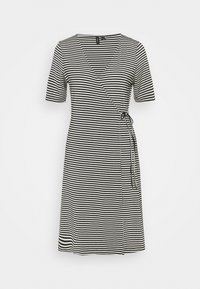 Vero Moda Tall - VMKATE SHORT DRESS - Jersey dress - black/white - 0