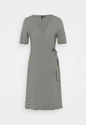 VMKATE SHORT DRESS - Jersey dress - black/white