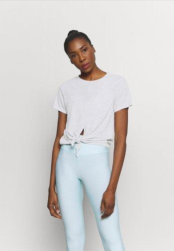 TIE UP  - Basic T-shirt - grey marle