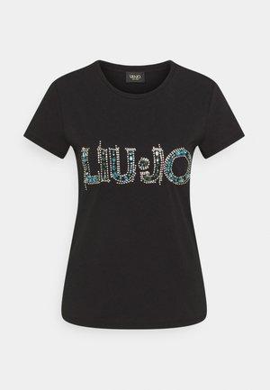 LOGO - Print T-shirt - nero
