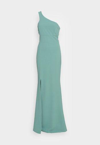 SUZANNA ONE SHOULDER DRESS - Společenské šaty - sage green