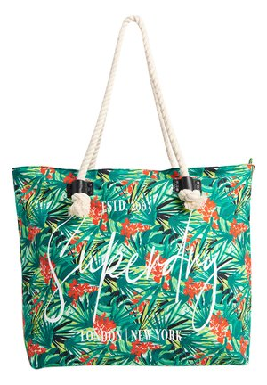 Tote bag - green tropical