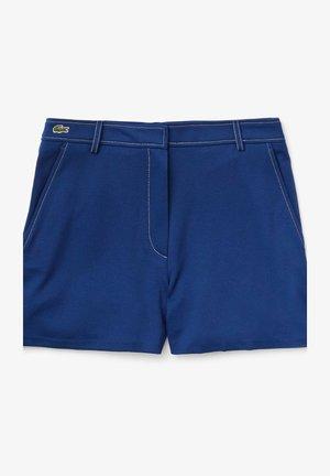 Shorts - bleu marine / blanc