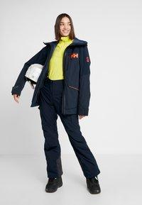 Helly Hansen - POWCHASER LIFALOFT JACKET - Snowboardjakke - navy - 1