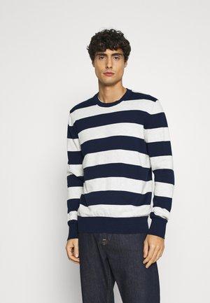 CORE CREW RUGBY - Stickad tröja - true navy