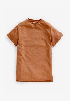 Camiseta básica - brown