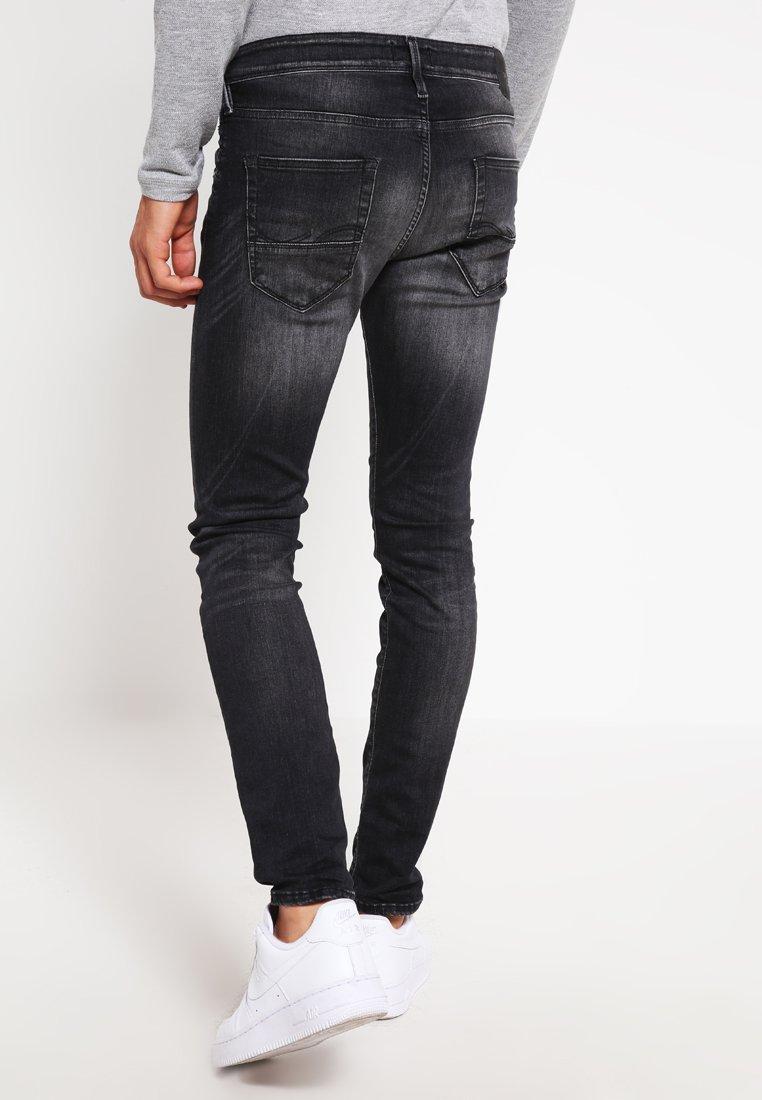 Affordable Latest Men's Clothing Jack & Jones JJIGLENN JJFOX  Slim fit jeans black denim NWTb1GVg3 61a8r74ph