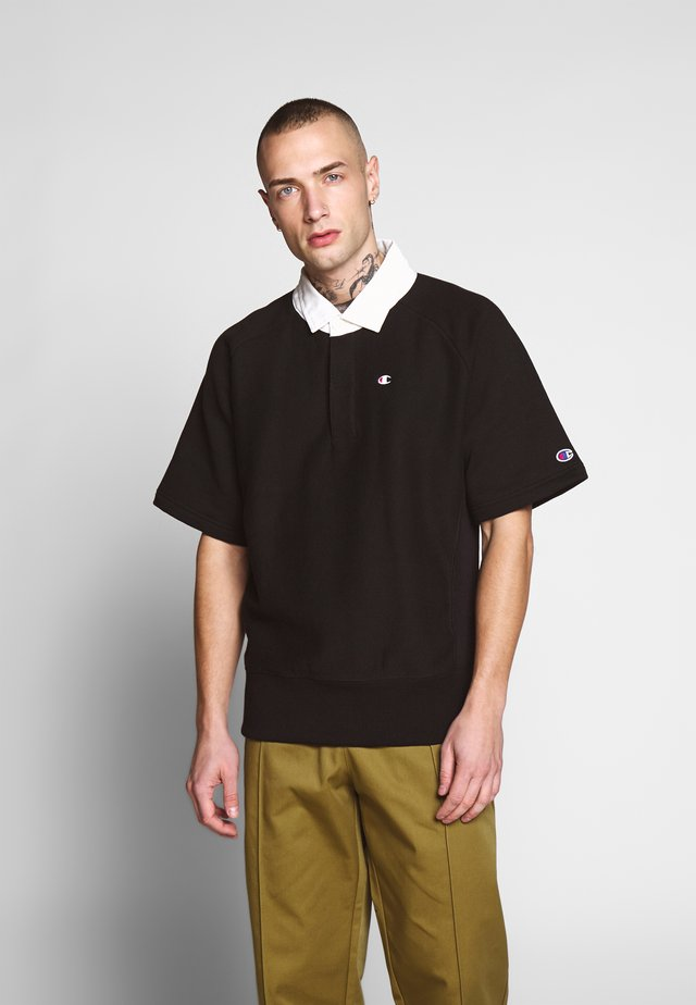 SHORT SLEEVES - Polo shirt - black