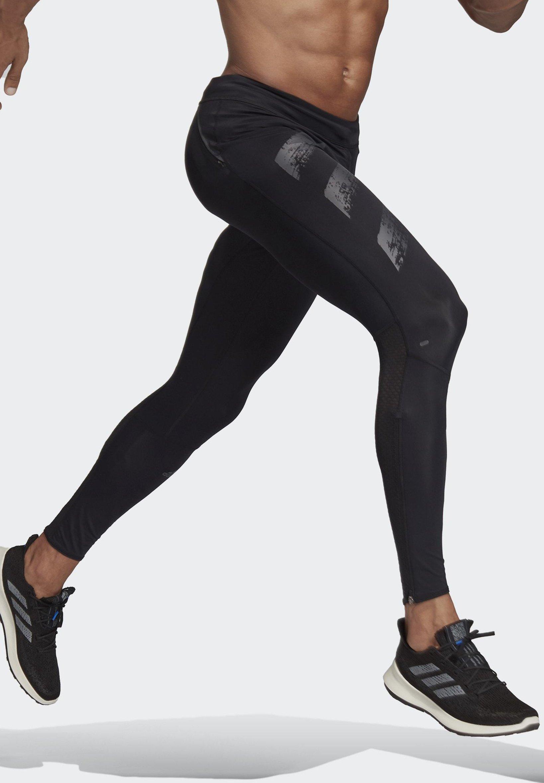 adidas Performance SATURDAY LONG TIGHTS - Collants - black