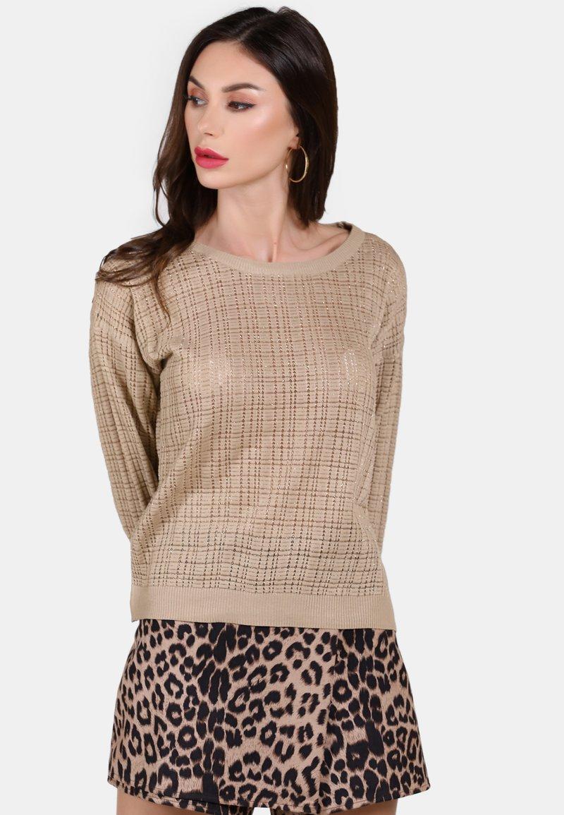 faina - Pullover - beige