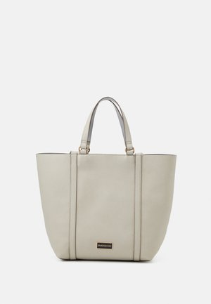 Tote bag - beige/blue