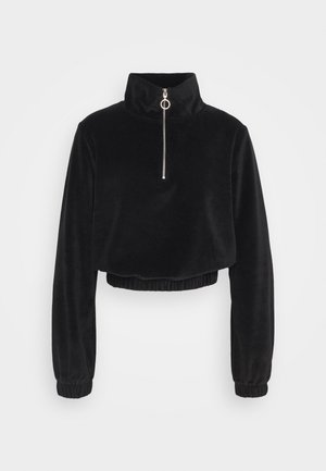 ONLJACKIE ZIPPER - Sweatshirt - black