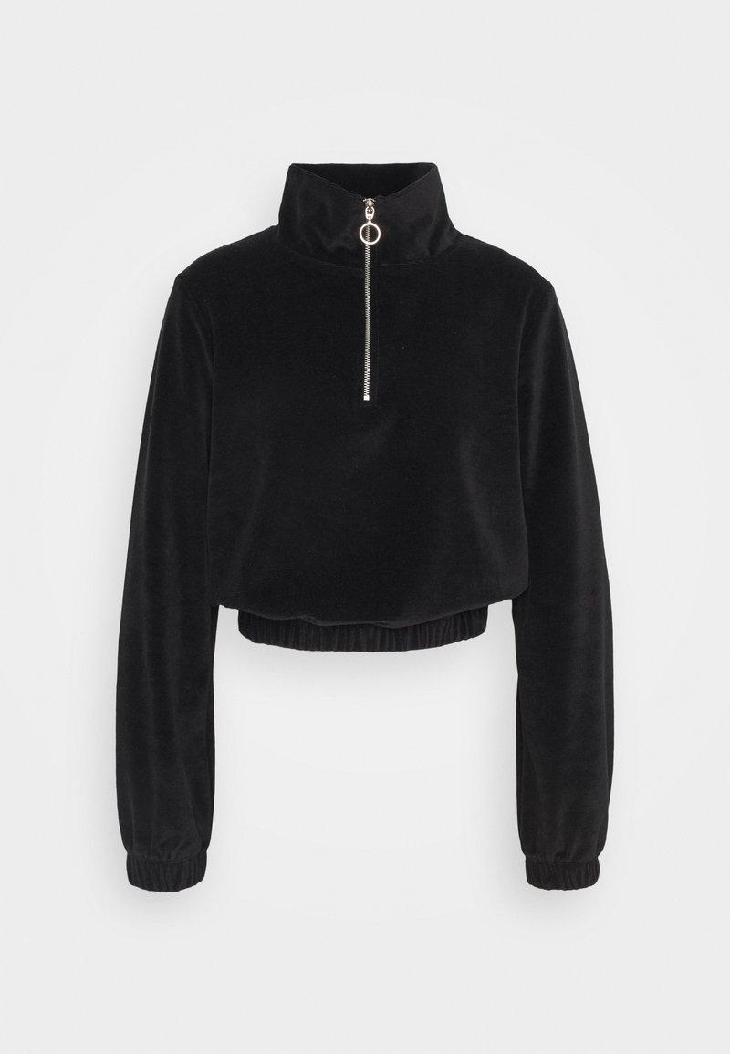 ONLY - ONLJACKIE ZIPPER - Sweatshirt - black