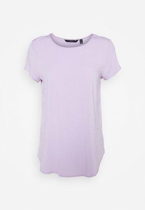 VMBECCA PLAIN - Basic T-shirt - pastel lilac