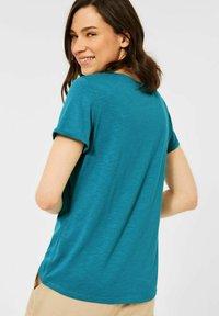 Cecil - BASIC STYLE - Basic T-shirt - blau - 2