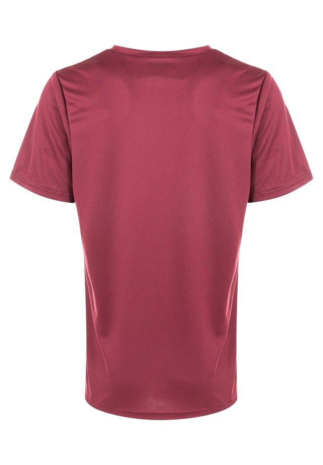 ANNABELLE - Basic T-shirt - 4132 tawny port