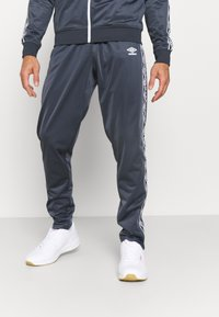 Umbro - ACTIVE STYLE TAPED TRACKSUIT - Tracksuit - indian ink/white - 3