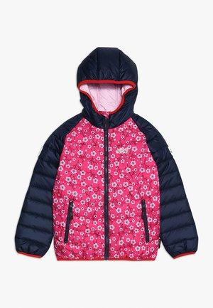 ZENON PRINT JACKET KIDS - Outdoorová bunda - pink fuchsia