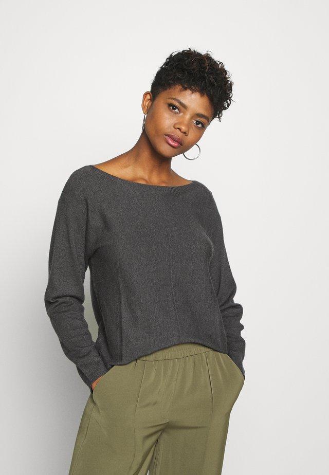 JDYPOMPEII - Sweter - dark grey melange