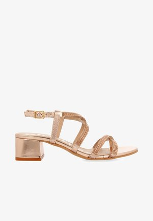 Sandals - oro rosado