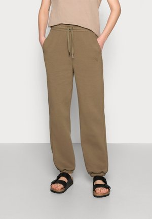 RUBI PANTS - Tracksuit bottoms - capers