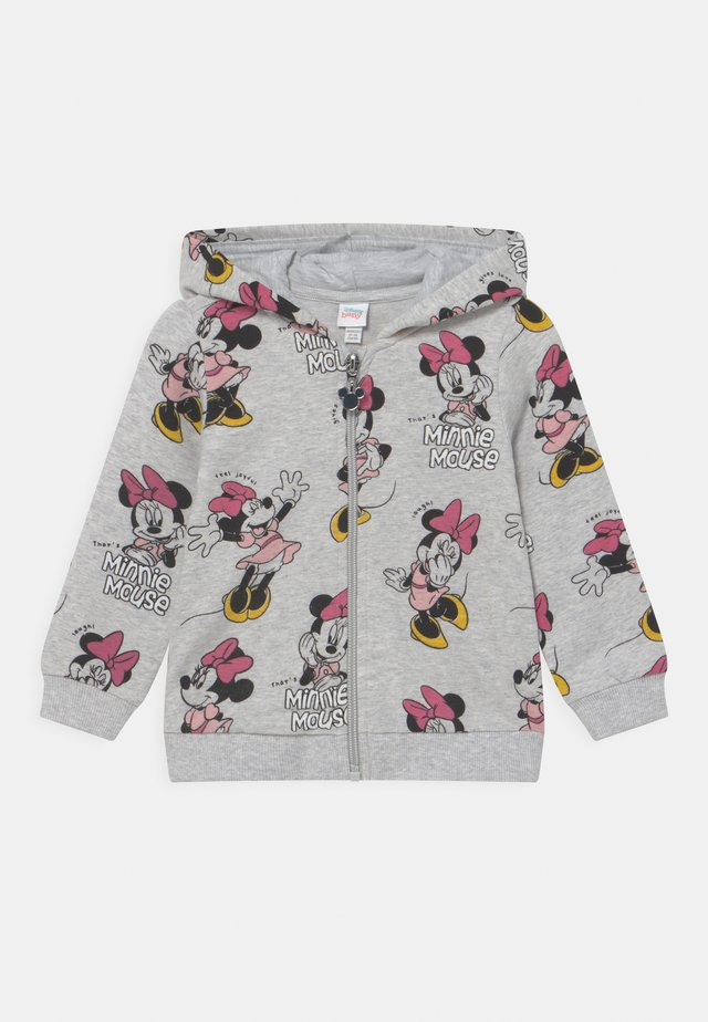FULL ZIP MINNIE - Huvtröja med dragkedja - grey melange