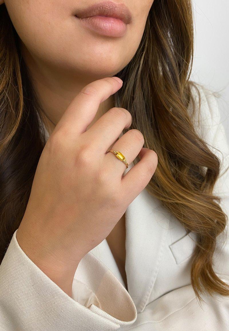 ArteGia - Ring - gold orange