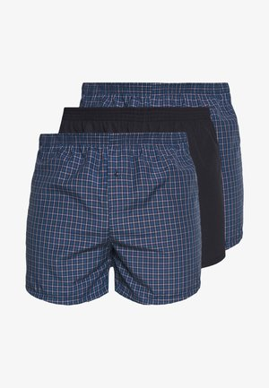 3 PACK - Boxer - dark blue/blue