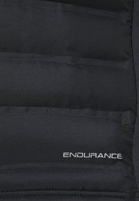 Endurance - MIDAN HOT FUSED HYBRID JACKET - Veste de running - black - 2