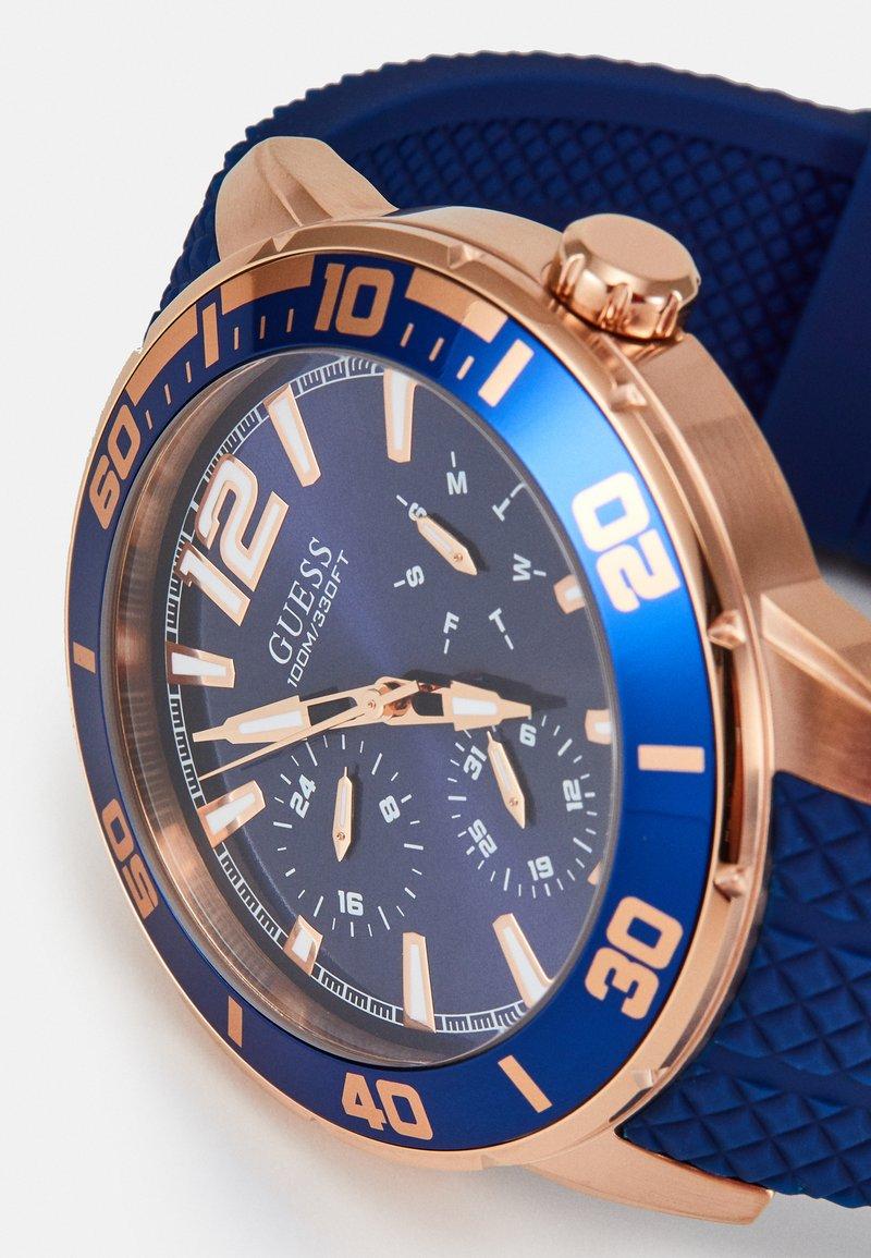 depositare Leggero Siccità  Guess Watch - blue - Zalando.co.uk